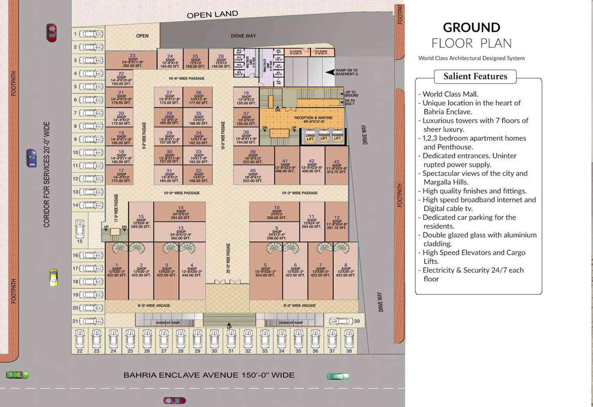 AKAS Mall & Residencia-Project Maps