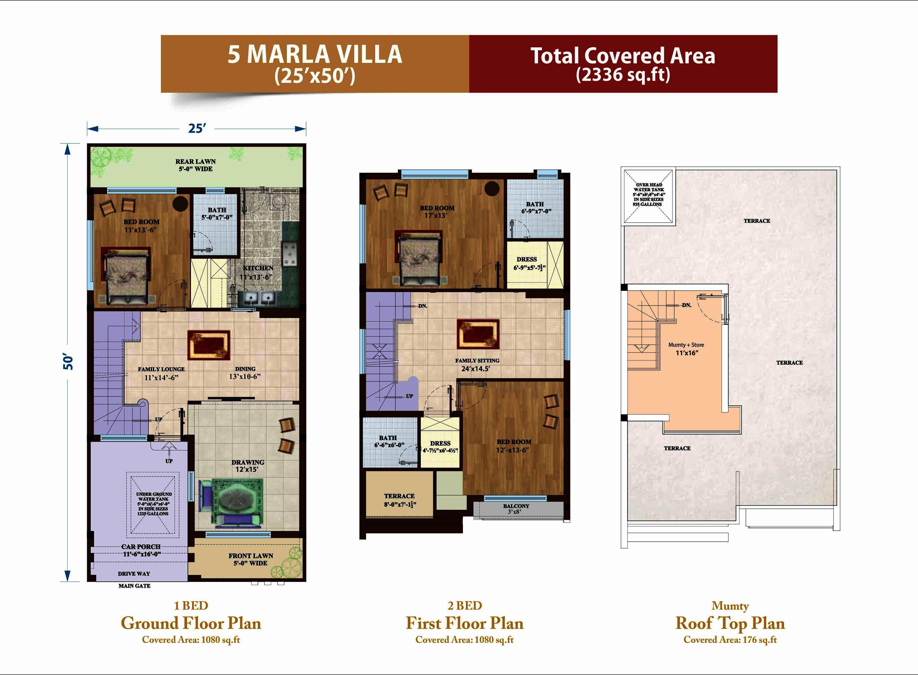 Capital Villas-Project Maps