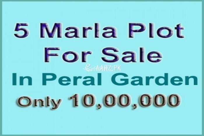 5 Marla Plot for Sale