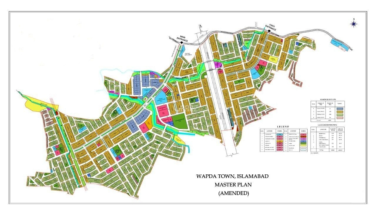 10 Marla Plot for Sale - Margala Hills Facing