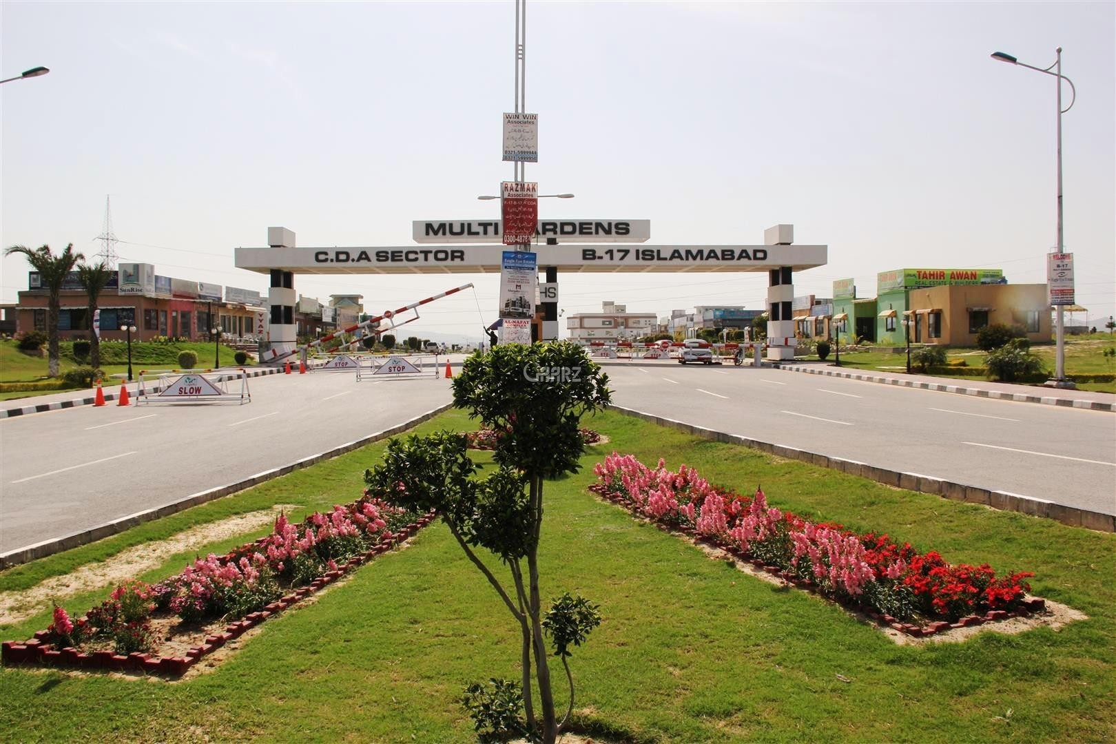 10 Marla Plot in B-17 Block-B1 Main Double Road, Islamabad is for Sale
