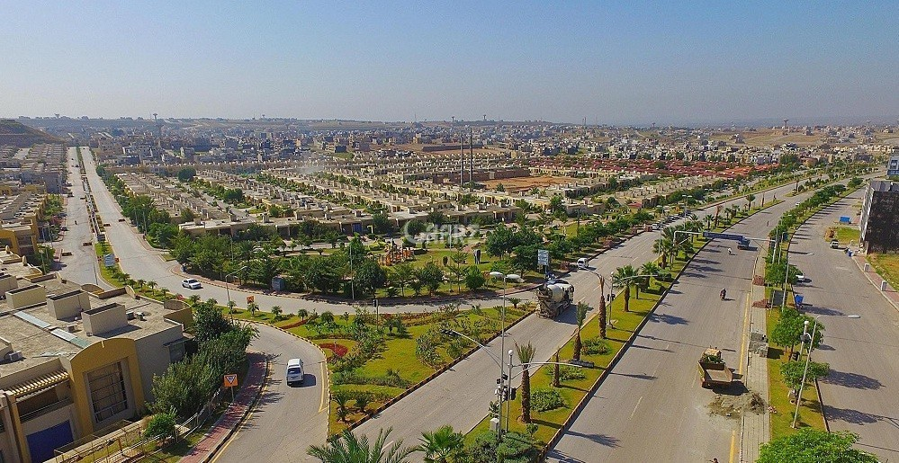 10 marla plot in bahria phase 8 i