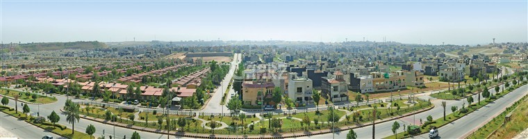 10 marla plot in bahria phase 8 oversees