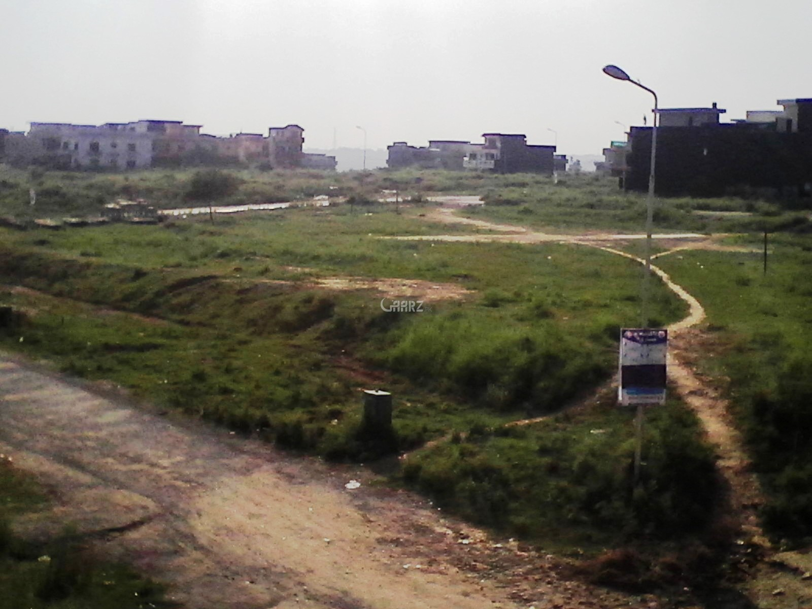 3 Kanal Corner Plot for Sale - Margala Facing