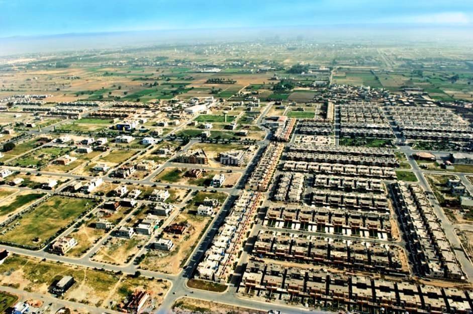 7 marla plot in bahria phase 8  khalid block