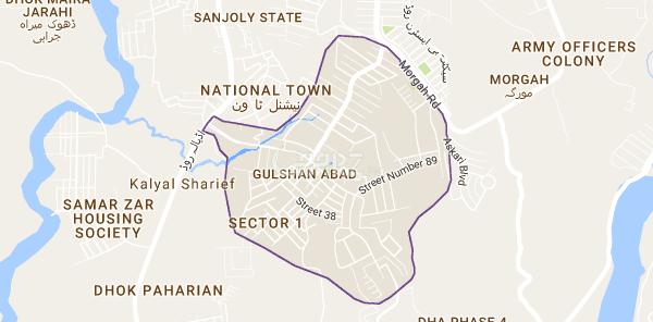 10 Marla Plot for Sale in Gulshan Abad Rawalpindi - AARZ PK