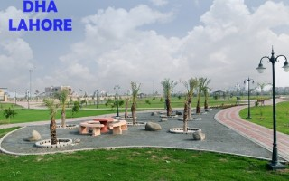 Good Location 1 Kanal Plot for sale in DHA Phase 8, No,. 309 Block V , 215 Lacs