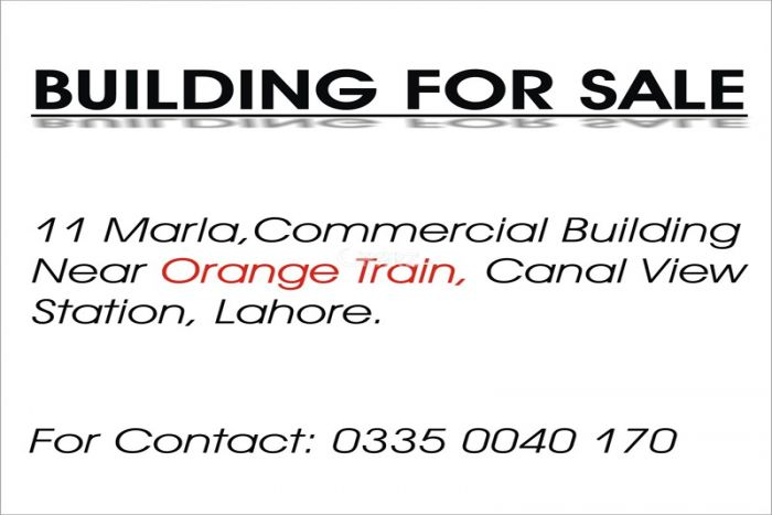 11 Marla Commercial Ware House for Sale in Lahore Multan Road