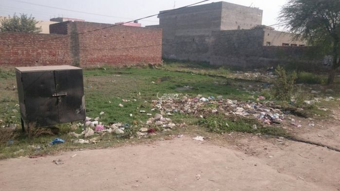 18.5 Marla Plot for Sale in Lahore Rehmat Town Manawan