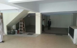 3050 Square Feet Commercial Space for Rent in Karachi Rashid Minhas Road