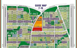 1 Kanal Plot for Sale In F-16/3
