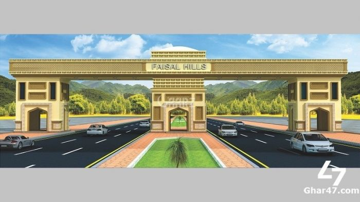 5.55 Marla Plot For Sale In Faisal Hill Main G.T Road, Taxila.