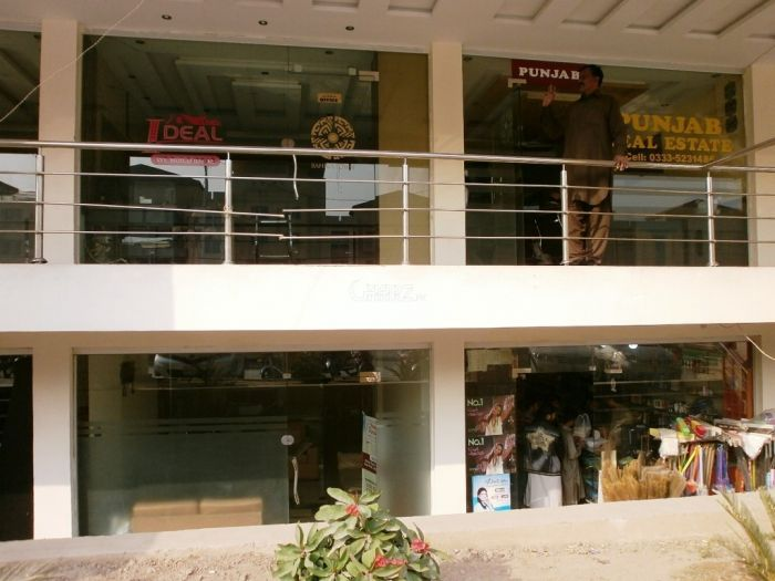 A Beautiful 408 Square Feet Shop For a Rent In Phase 7, Rawalpindi.