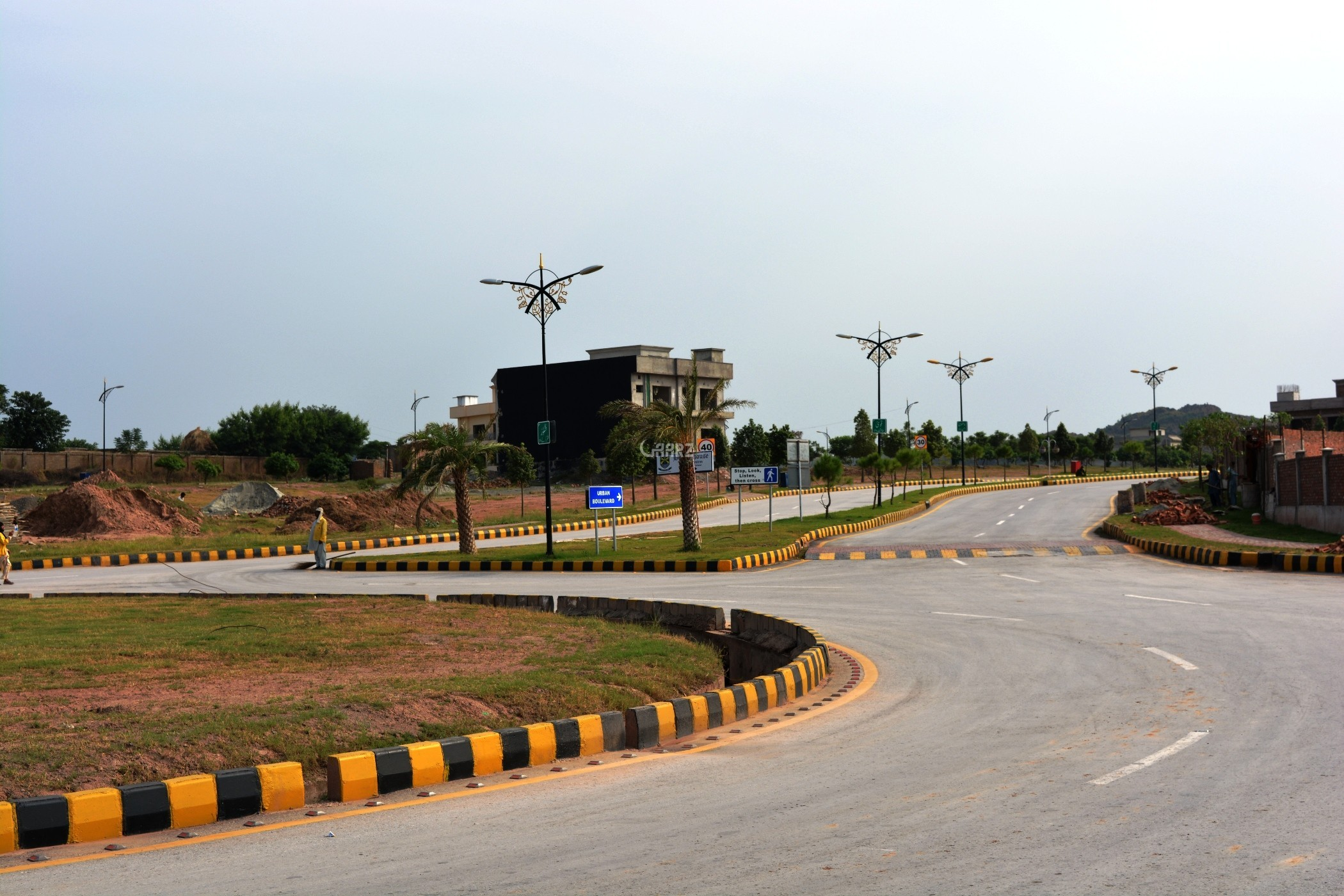 10 Marla Beautiful Plot For Sale In A Block, Bahria Enclave, Islamabad.