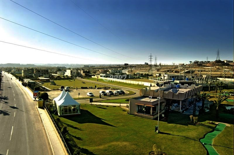 10 Marrla Commercial Plot For Sale In Bahria Town phase 4, Rawalpindi.