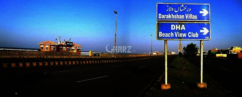 1000 Square Yards Plot For Sale In Defence phase 8, Karachi.