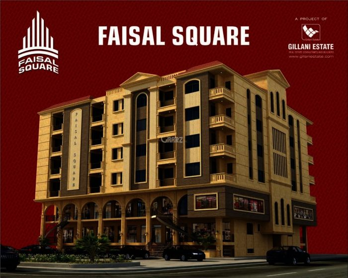 1896 Square Feet Flat For Sale In Faisal Town Faisal Square