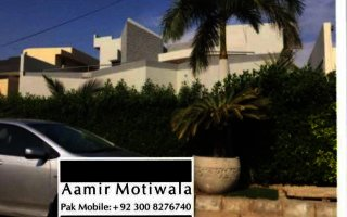 1 Kanal House For Rent In Falcoon Complex, Karachi.