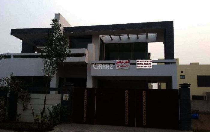 1 Kanal House For Rent In Bahria Town Ali Block, Lahore