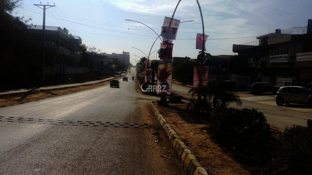 1 Kanal Plot For Sale In Shahra-e-Quaideen, Karachi