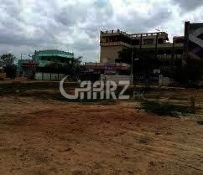1 Kanal Plot For Sale In PECHS, Karachi