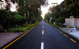 10 Marla Plot For Sale Hayatabad Phase 4,