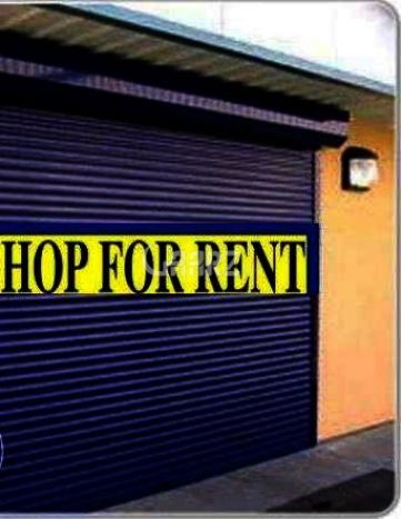 1050 Square Feet Shop For Rent In Food Street Road Karachi.