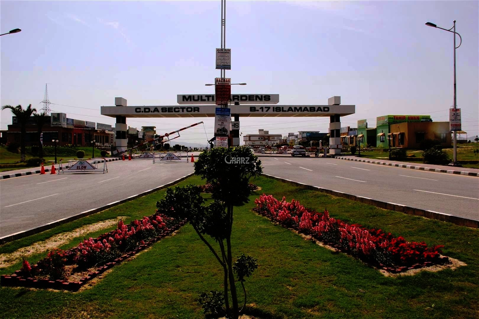 10.88 Marla Plot For Sale In B-17, Islamabad
