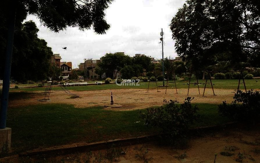 16 Marla Plot For Sale In Saadi Town, Karachi.