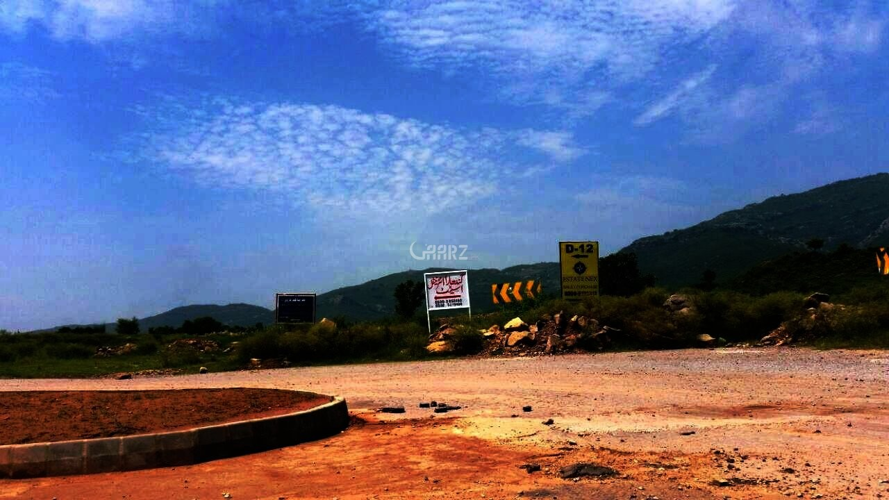 24 Marla Plot For Sale In D-12/1, Islamabad