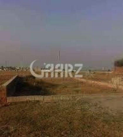 3.36 Marla Commercial Plot For Sale In Saadi Town, Karachi