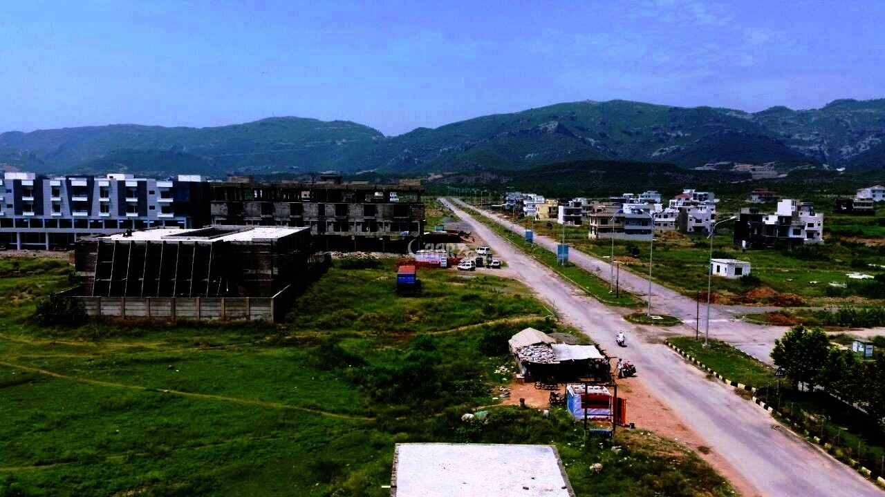 4.44 Marla Plot For Sale In D-12/3, Islamabad.