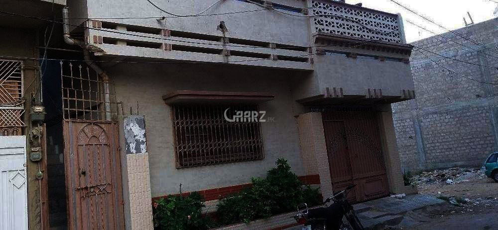6.4 House For Sale In Lucknow Society, Karachi.