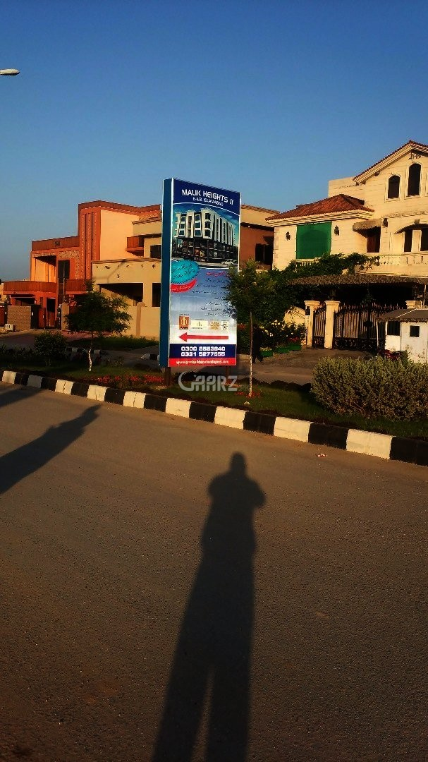 Commercial Corner Plot Size 120 X 180 For Sale In B-17, Islamabad.