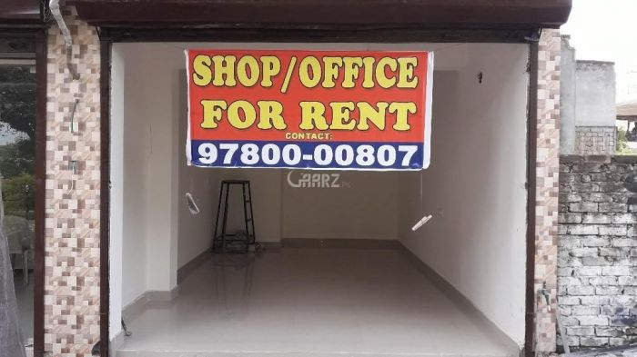 1,120 Square Feet Shop For Rent In PWD Housing Scheme, Islamabad