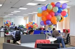 9000 Square Feet Semi Furnished Office For Rent