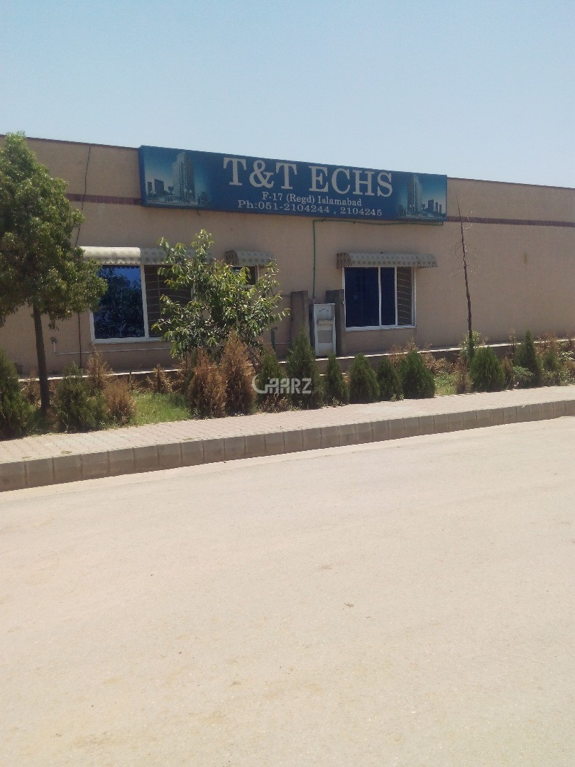 272 Sq Yard Plot For Sale In F-17 T & T ECHS, Islamabad.