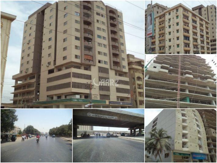 1100 Square Feet Flat 9th Floor For Sale In North Nazimabad Block F, Karachi
