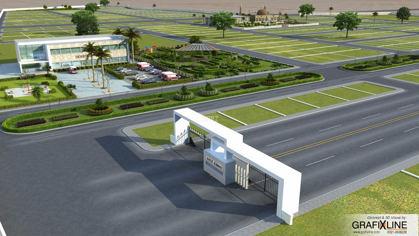 2 kanal Industrial plots for sale