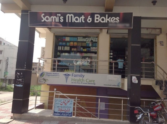 184 Square Feet Commercial Shop for Rent in Lahore Ghalib Road