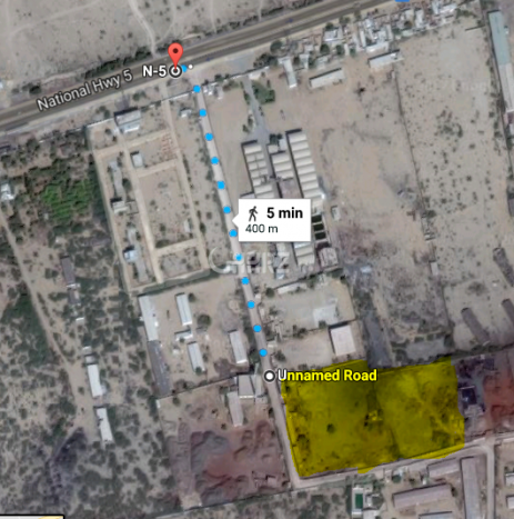 304920 Square Feet Industrial Land for Sale in Karachi National Highway