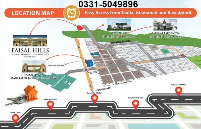 5 Marla Residential Land for Sale in Islamabad Faisal Hills