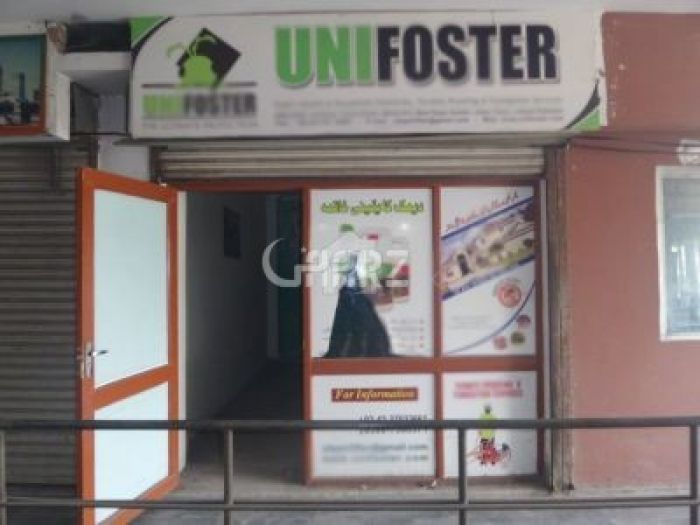 900 Square Feet Commercial Shop for Rent in Karachi Gulshan
