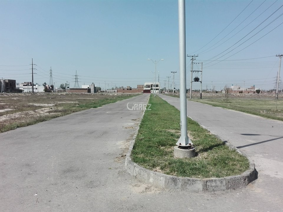 1 Kanal Plot for Sale in Lahore Jinnah Block