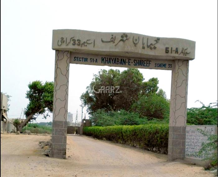 240 Square Yard Plot for Sale in Karachi Khayaban-e-shareef