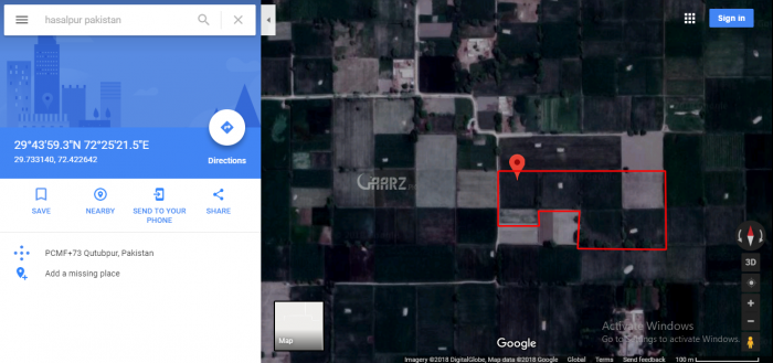 52 Kanal Agricultural Land for Sale in Hasilpur Basti Baghwali Mozza Badur Din