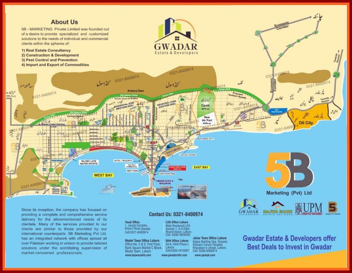 8 Kanal Commercial Land for Sale in Gwadar Marine Drive