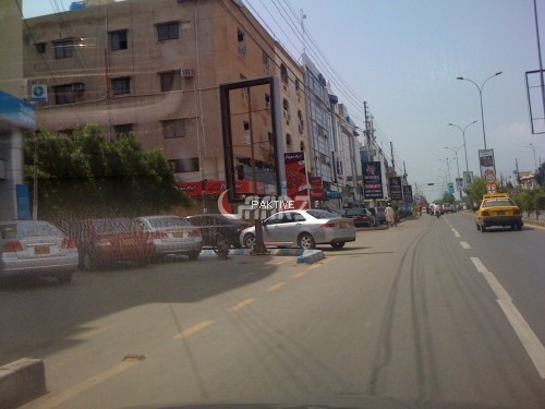2000 Square Feet Commercial Office for Rent in Karachi Shahbaz Commercial Area