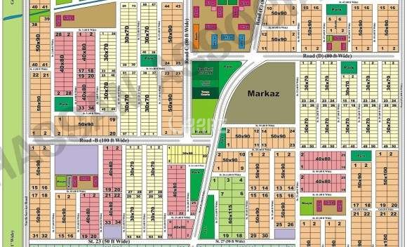 2400 Square Feet Plot for Sale in Islamabad D-17/2