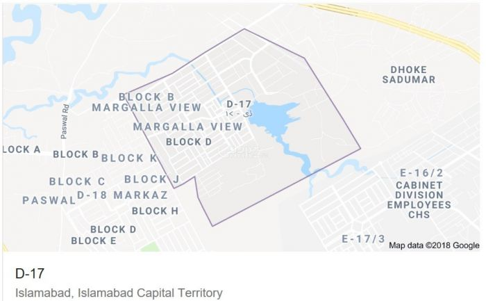 4500 Square Feet Plot for Sale in Islamabad D-17/2